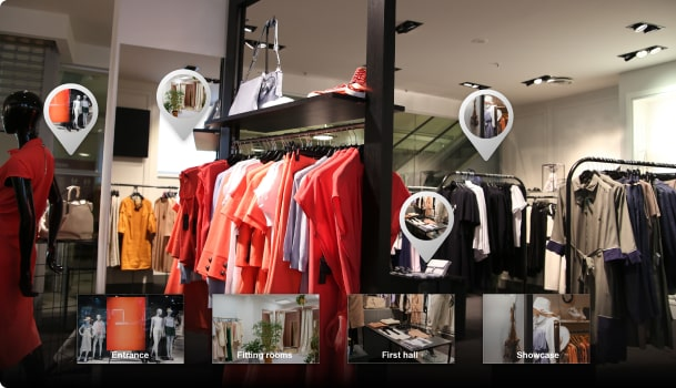 Virtual Showrooms and Store Extension