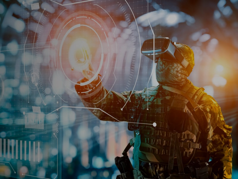 Virtual & Augmented Reality for The Military